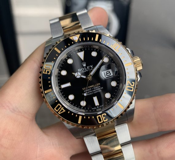 ROLEX SEA-DWELLER 43MM STEEL & GOLD 126603 1