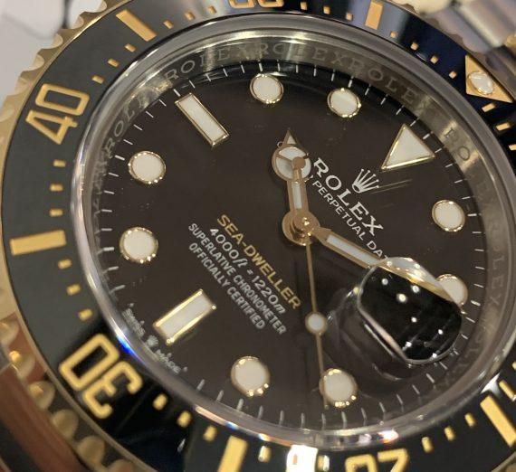 ROLEX SEA-DWELLER 43MM STEEL & GOLD 126603 2