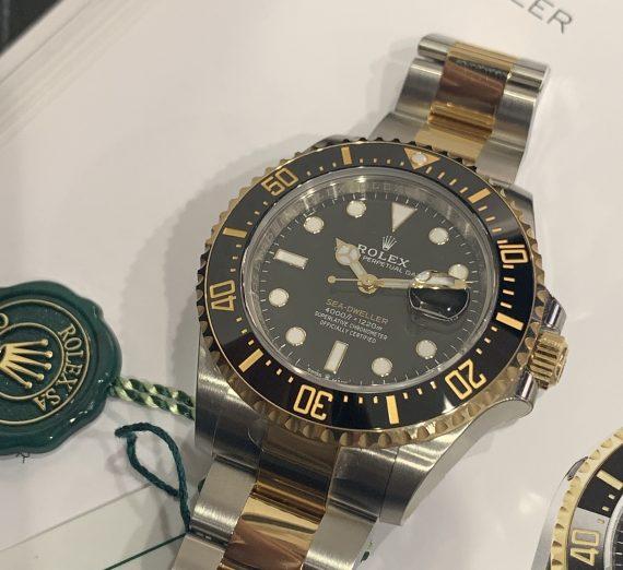 ROLEX SEA-DWELLER 43MM STEEL & GOLD 126603 3