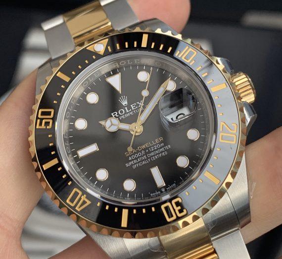 ROLEX SEA-DWELLER 43MM STEEL & GOLD 126603 4