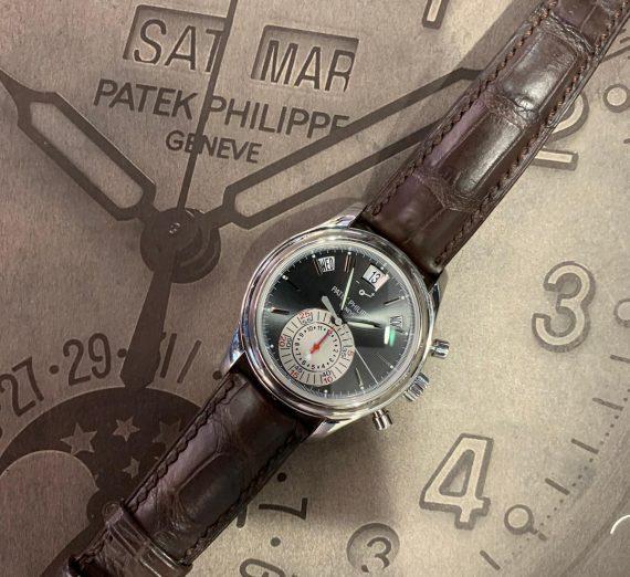 PATEK PHILIPPE ANNUAL CALENDAR CHRONOGRAPH PLATINUM 5960P 8