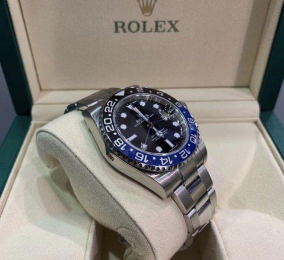 ROLEX GMT MASTER II BATMAN 116710BLNR 14