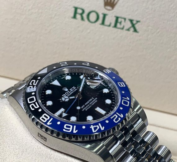 ROLEX GMT MASTER II BATMAN 126710BLNR 14