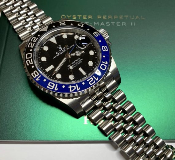 ROLEX GMT MASTER II BATMAN 126710BLNR 17