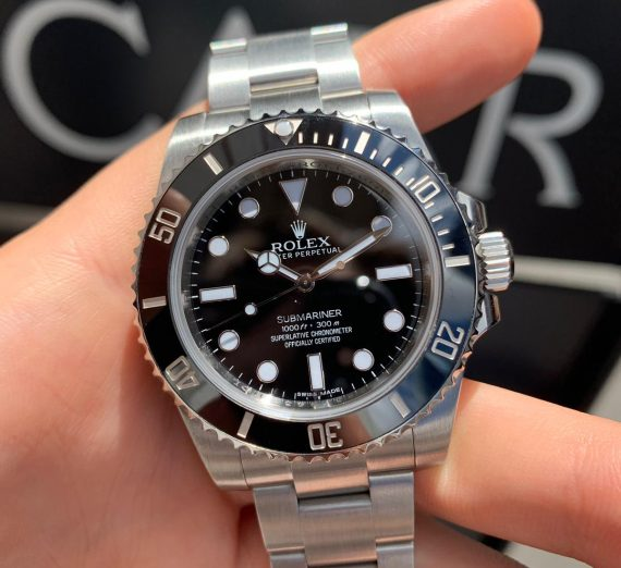 ROLEX SUBMARINER NON DATE STAINLESS STEEL 114060 8