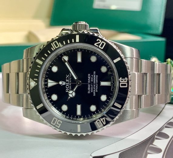 ROLEX SUBMARINER NON DATE STAINLESS STEEL 114060 10