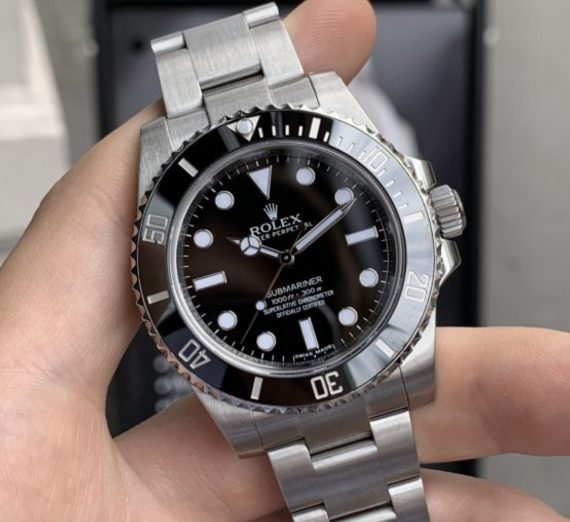 ROLEX SUBMARINER NON DATE STAINLESS STEEL 114060 6