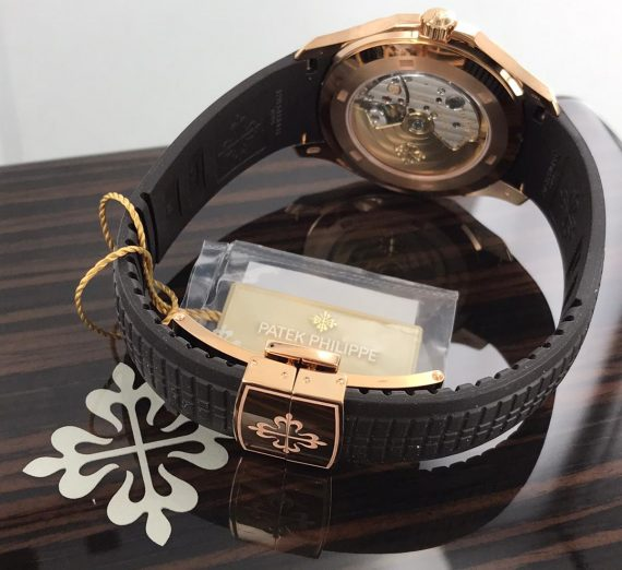 PATEK PHILIPPE ROSE GOLD AQUANAUT 5167R-001 19