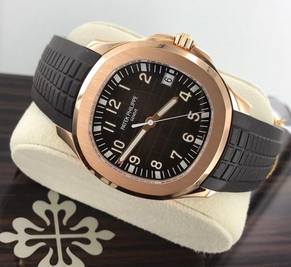 PATEK PHILIPPE ROSE GOLD AQUANAUT 5167R-001 22