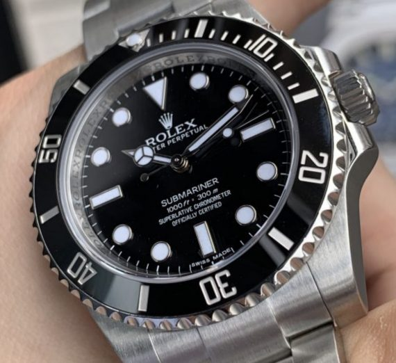 ROLEX SUBMARINER NON DATE STAINLESS STEEL 114060 18