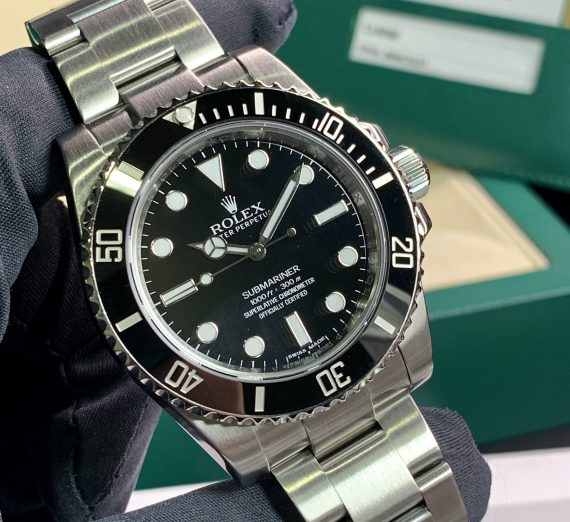 ROLEX SUBMARINER NON DATE STAINLESS STEEL 114060 23