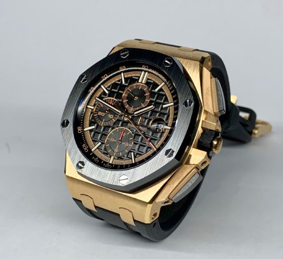 AUDEMARS PIGUET ROYAL OAK OFFSHORE CHRONOGRAPH #26401RO.OO.A002CA.02 18CT ROSE GOLD 2