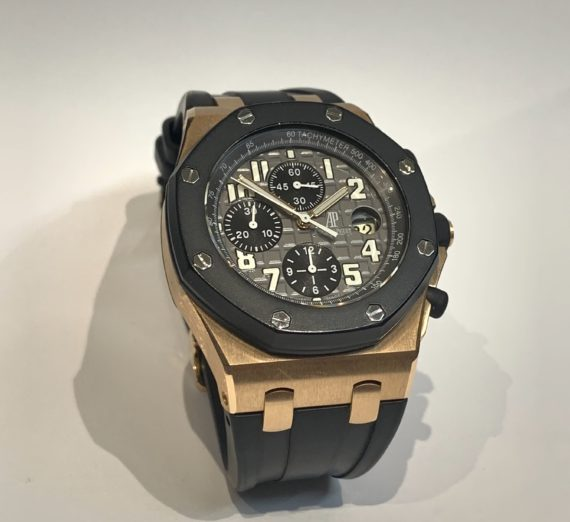 AUDEMARS PIGUET ROYAL OAK OFFSHORE ROSE GOLD 25940OK.OO.D002CA.01.A 2