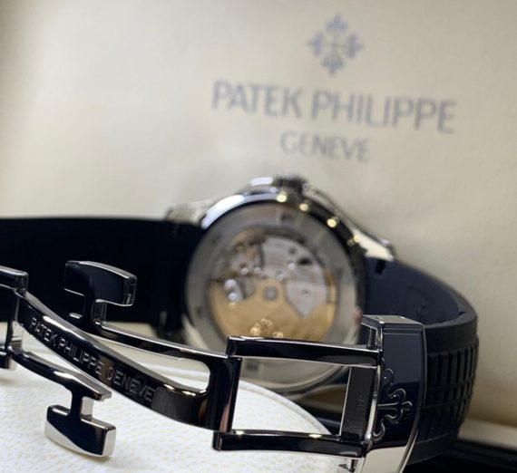 Patek Philippe Aquanaut Travel Time Stainless Steel 5164A 2