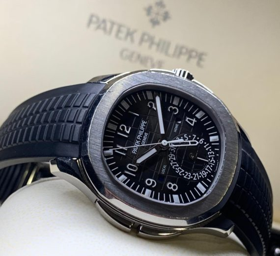 Patek Philippe Aquanaut Travel Time Stainless Steel 5164A 4
