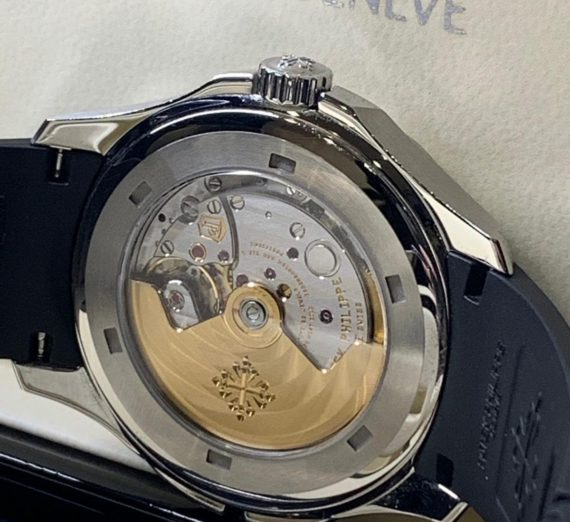 Patek Philippe Aquanaut Travel Time Stainless Steel 5164A 5