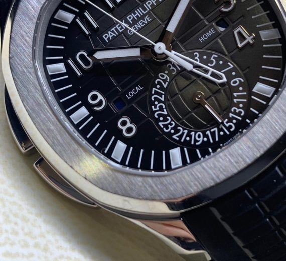 Patek Philippe Aquanaut Travel Time Stainless Steel 5164A 6