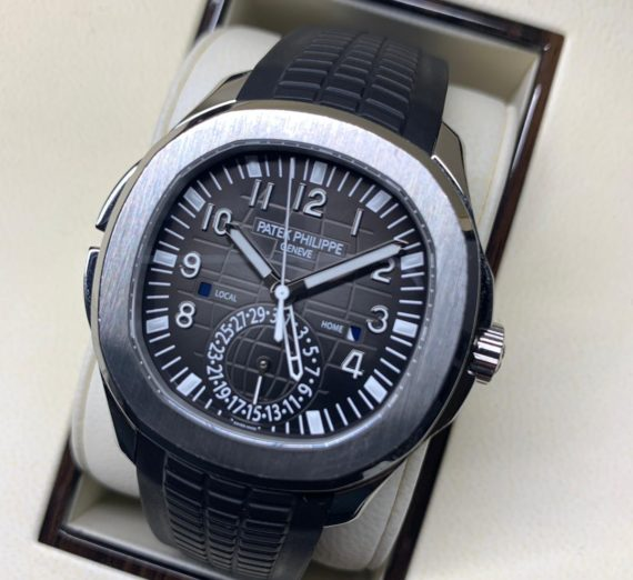 Patek Philippe Aquanaut Travel Time Stainless Steel 5164A 8