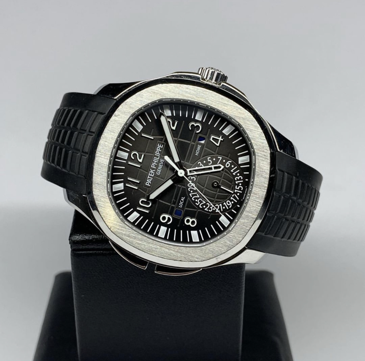 Patek Philippe Aquanaut Travel Time Stainless Steel 5164A