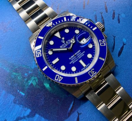 ROLEX 18CT WHITE GOLD SUBMARINER 2