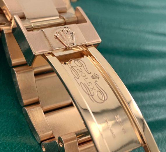 Rolex Cosmograph Daytona 116505 18ct Rose Gold black dial 5