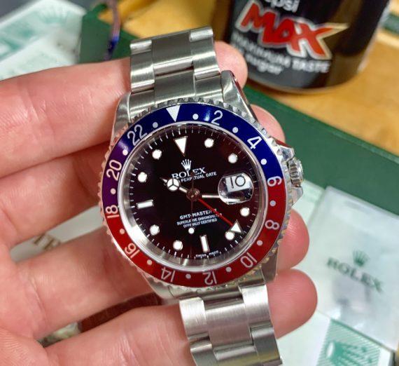 ROLEX GMT MASTER 2 PEPSI BEZEL 16710 8