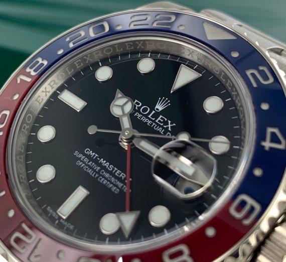 ROLEX GMT-MASTER II 116719BLRO 7