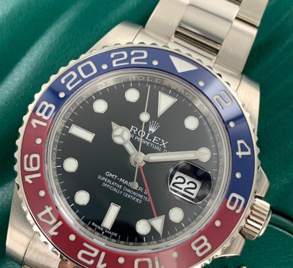 ROLEX GMT-MASTER II 116719BLRO 8