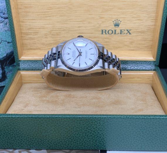 ROLEX STAINLESS STEEL 36MM DATEJUST 16234 1