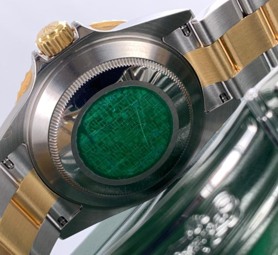 ROLEX SUBMARINER 18CT GOLD AND STEEL 16613 9
