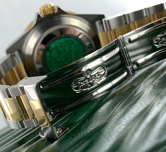 ROLEX SUBMARINER 18CT GOLD AND STEEL 16613 5
