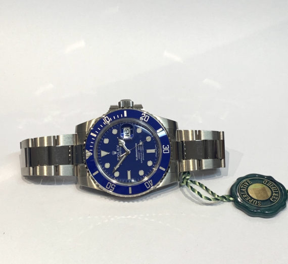 ROLEX SUBMARINER WHITE GOLD 116619LB 4