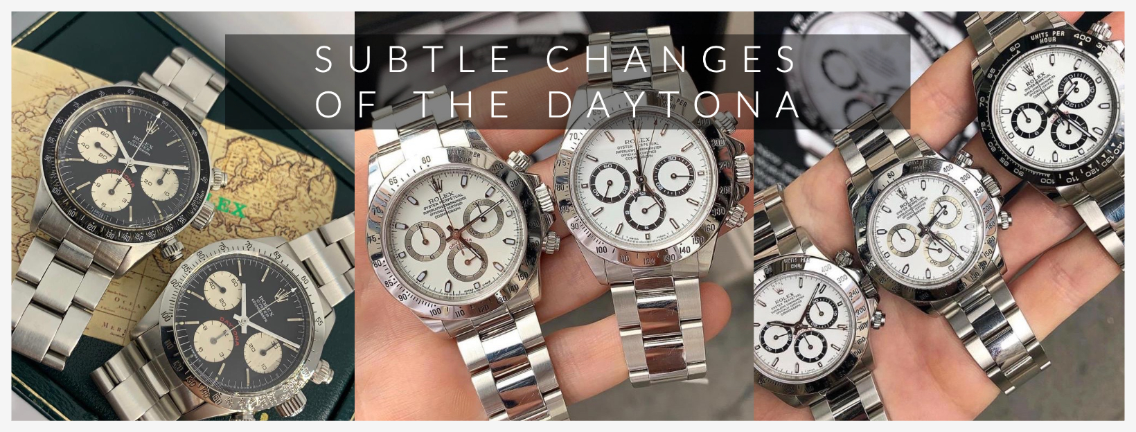 SUBTLE CHANGES TO THE DAYTONA 3