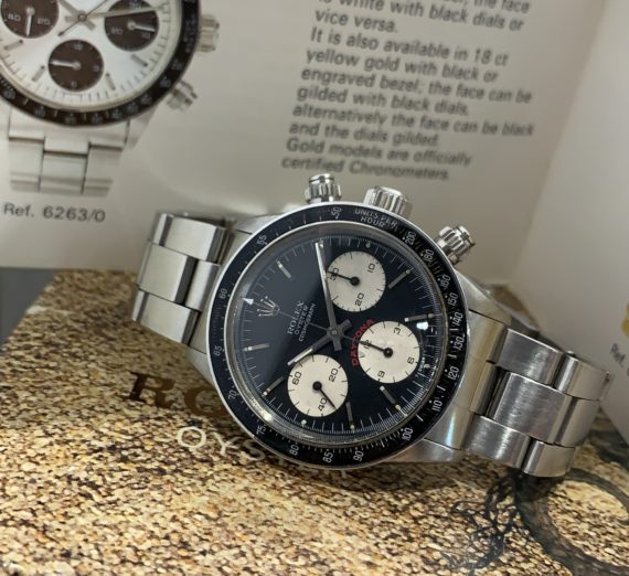 VINTAGE ROLEX DAYTONA 6263 FROM 1979 9