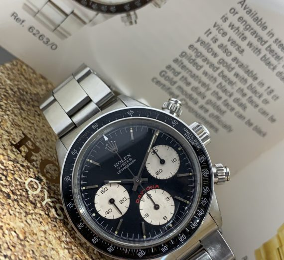 VINTAGE ROLEX DAYTONA 6263 FROM 1979 8
