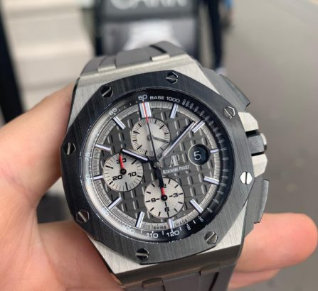 AUDEMARS PIGUET OFF SHORE TITANIUM CASE #26400IO.