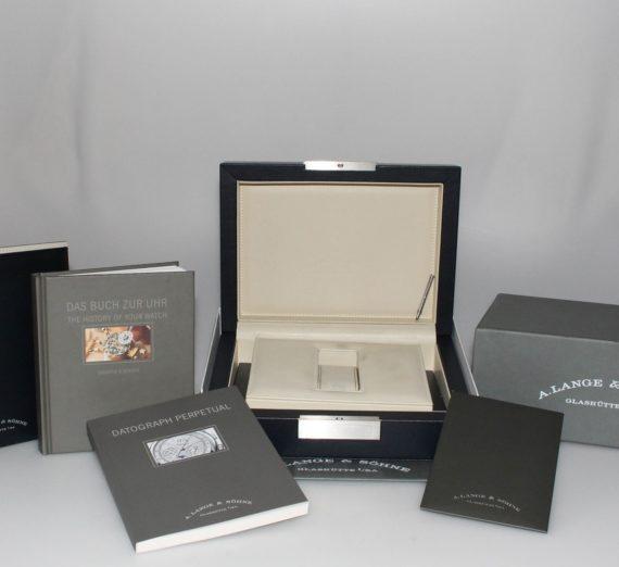 A. LANGE & SOHNE DATOGRAPH PERPETUAL CALENDAR 410.025 6