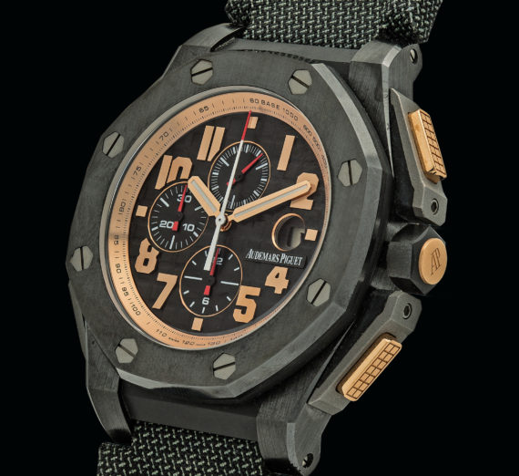 "AUDEMARS PIGUET ROYAL OAK OFFSHORE ""ARNOLD SCHWARZENEGGER THE LEGACY"" CHRONOGRAPH 26378IO.OO.A001KE.01 6"