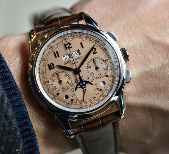PATEK PHILIPPE GRAND COMPLICATIONS PERPETUAL CALENDAR CHRONOGRAPH 5270P-001 12