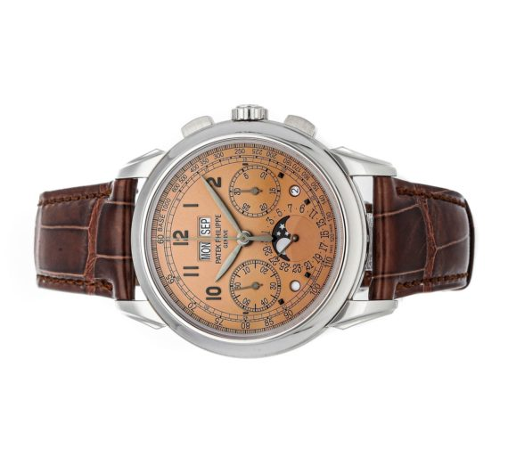 PATEK PHILIPPE GRAND COMPLICATIONS PERPETUAL CALENDAR CHRONOGRAPH 5270P-001 1