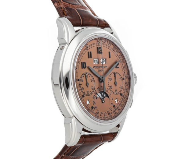 PATEK PHILIPPE GRAND COMPLICATIONS PERPETUAL CALENDAR CHRONOGRAPH 5270P-001 4