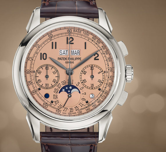 PATEK PHILIPPE GRAND COMPLICATIONS PERPETUAL CALENDAR CHRONOGRAPH 5270P-001 8