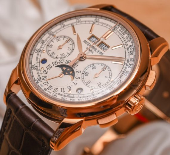 PATEK PHILIPPE GRAND COMPLICATIONS PERPETUAL CALENDAR CHRONOGRAPH 5270R-001 11