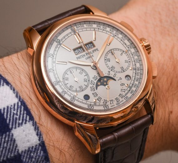 PATEK PHILIPPE GRAND COMPLICATIONS PERPETUAL CALENDAR CHRONOGRAPH 5270R-001 12