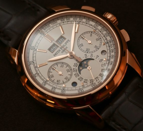 PATEK PHILIPPE GRAND COMPLICATIONS PERPETUAL CALENDAR CHRONOGRAPH 5270R-001 8