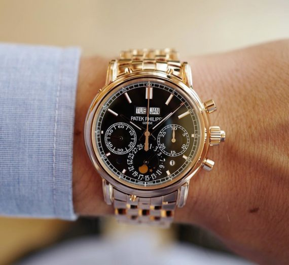 PATEK PHILIPPE GRAND COMPLICATIONS SPLIT-SECONDS CHRONOGRAPH PERPETUAL CALENDAR 5204/1R-001 3