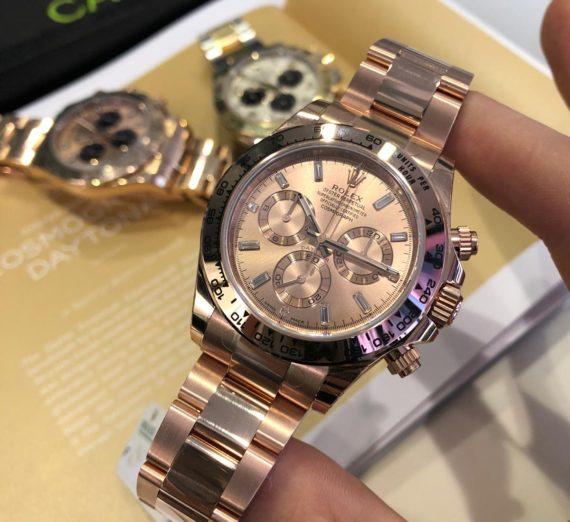 Rolex Cosmograph Daytona 116505 Everose Gold December 2019 9