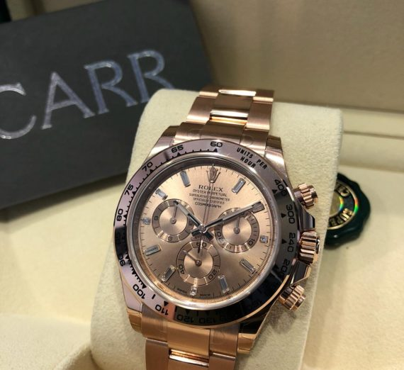 Rolex Cosmograph Daytona 116505 Everose Gold December 2019 13