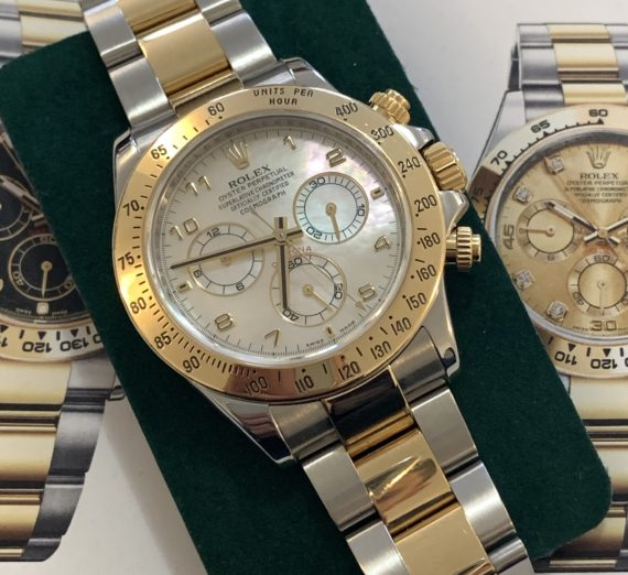 ROLEX DAYTONA 116513 MOTHER OF PEARL 3