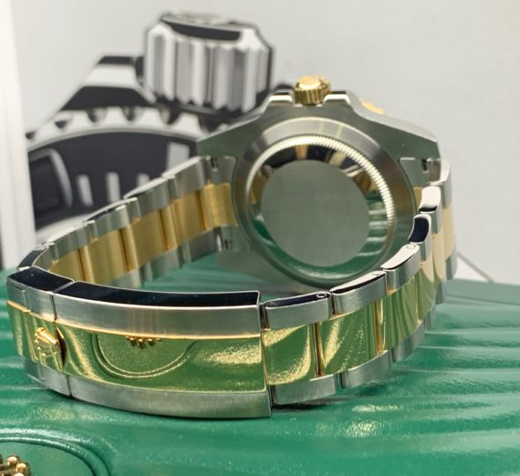ROLEX SUBMARINER STAINLESS STEEL AND 18CT YELLOW GOLD 116613LN 3